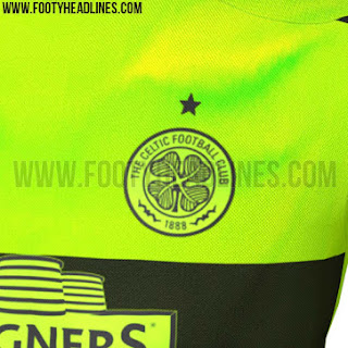 "Detail Jersey Celtic third ""Bumble Bee"" terbaru musim 2015/2016"