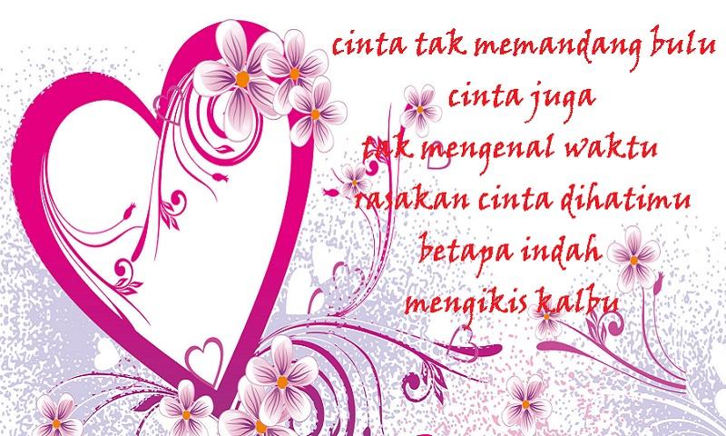 Pantun Cinta Romantis Untuk Pacar - Kata Kata Cinta Mutiara