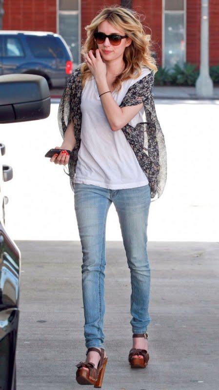 Emma Roberts' Street Style