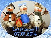 Галерея снеговиков