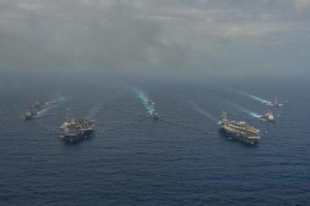 アメリカ空母打撃群のシーパワー