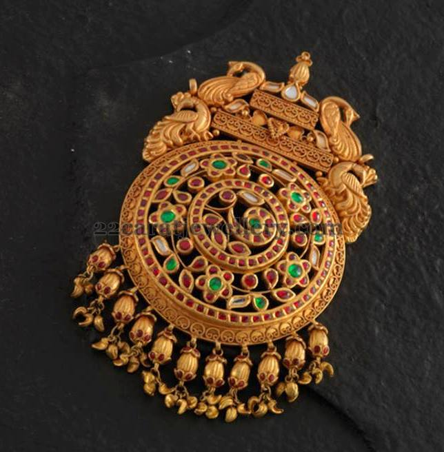 Antique work gold pendants 35 to 40gms jewellery designs antique work gold pendants 35 to 40gms aloadofball Image collections