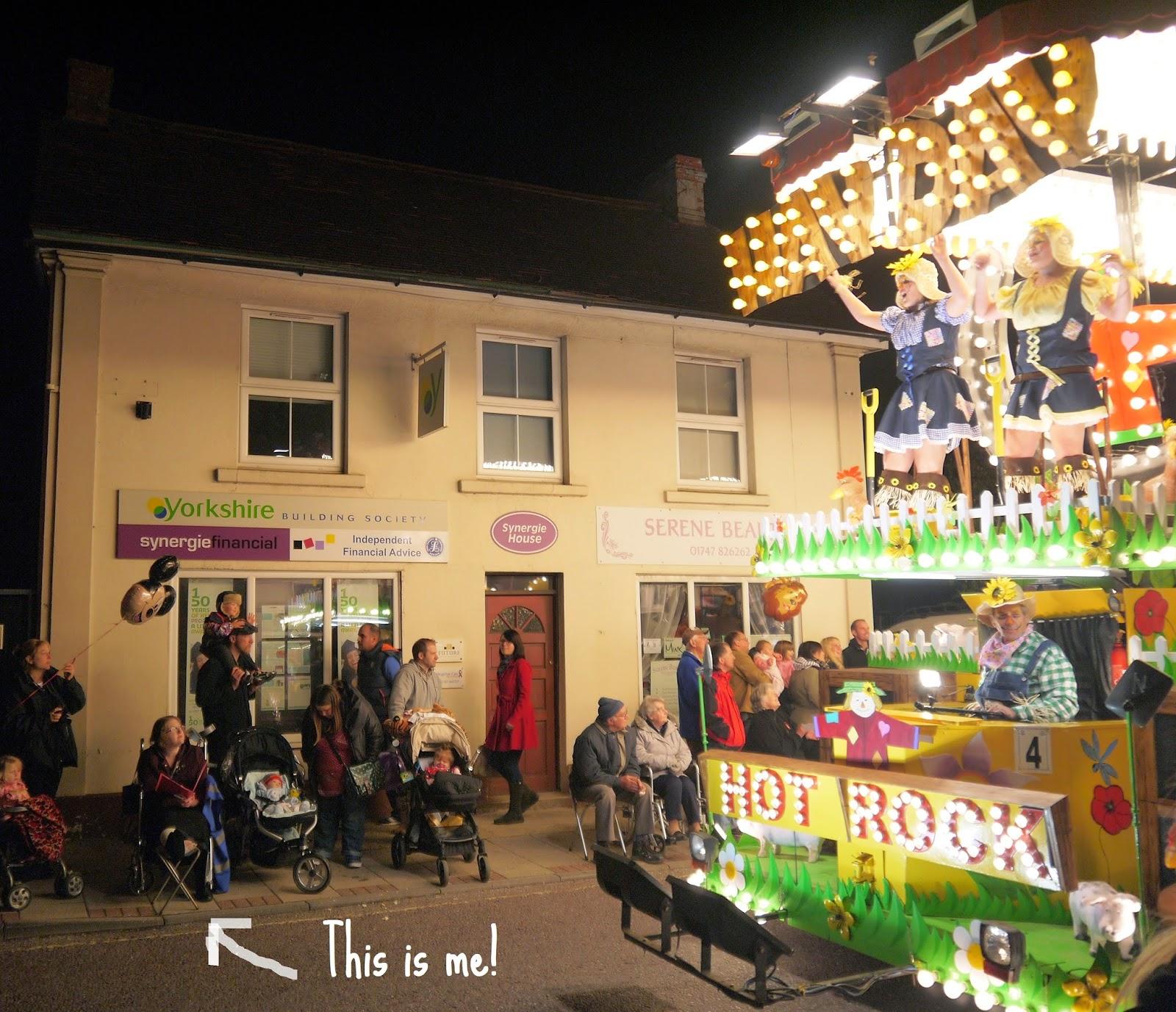 Judging Gillingham Carnival procession
