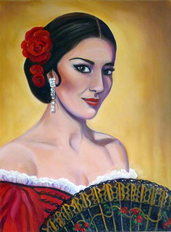 Maria Calais as Carmen Jones
