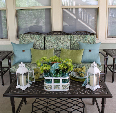 back porch makeover