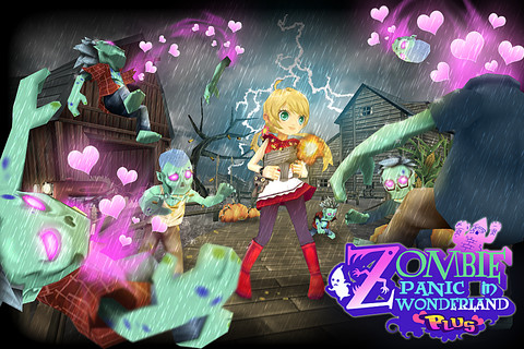 iOS Game] Zombie Panic in Wonderland Plus v2.3 Free