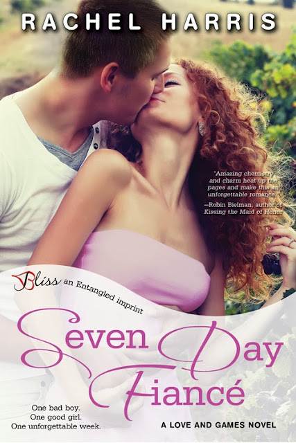 Cover Reveal : Seven Day Fiancé by Rachel Harris
