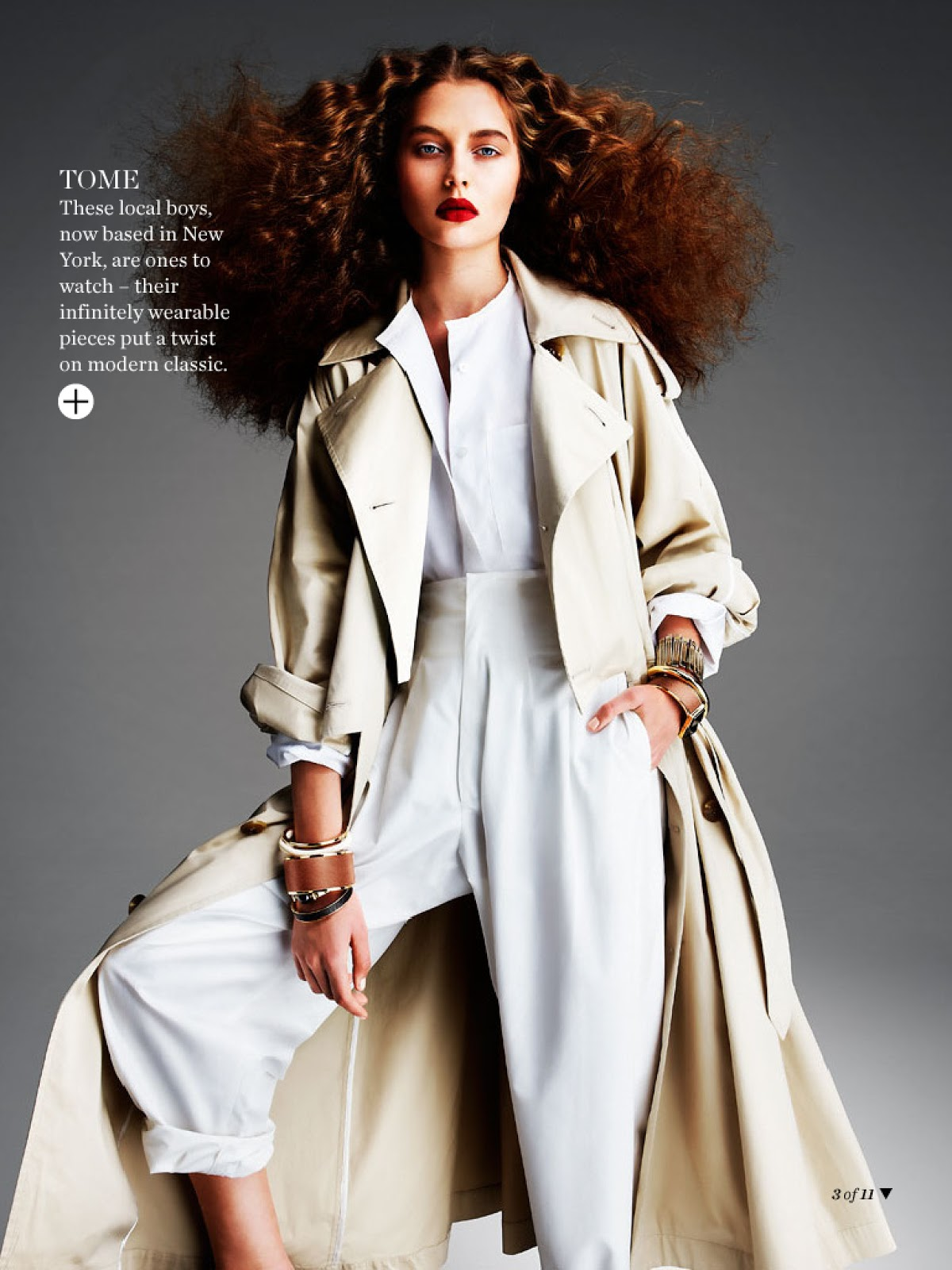 Marie Claire Australia March 2014 via www.fashionedbylove.co.uk