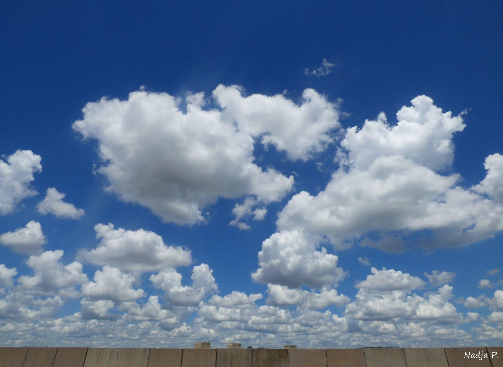 Os céus...
