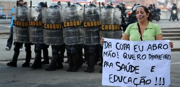 A COPA DO MUNDO NO BRASIL