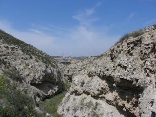 Barranco de las canales Cuarte de Huerva.