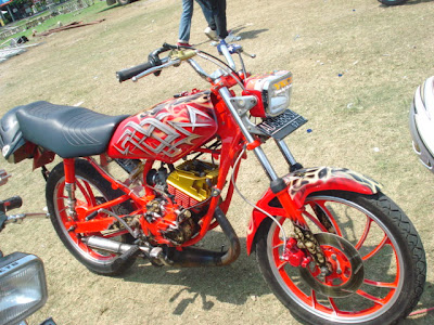 Yamaha RX King Modifikasi Airbrush