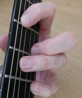 Emin11 guitar chord