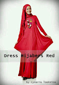 Dress Hijabers Red