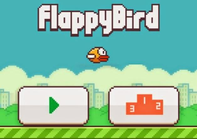 Phần mềm Flappy Bird từng gây sốt trong giới truyền thông nửa năm về trước