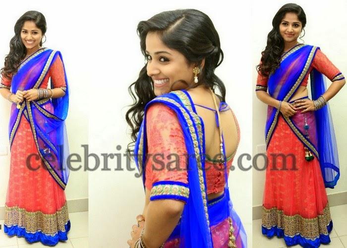 Rehana Designer Half Saree