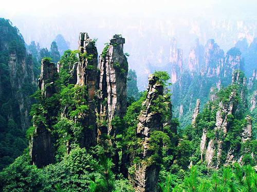 tianzi mountain, zhangjiajie, suoxi valley, son of heaven, needle, amazing view, landscape, photography