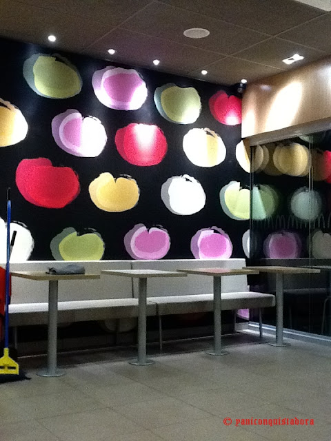 Mc Donald's Greenhills NEW LOOK!