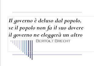 Bertolt Brecht▐ Il governo e il popolo