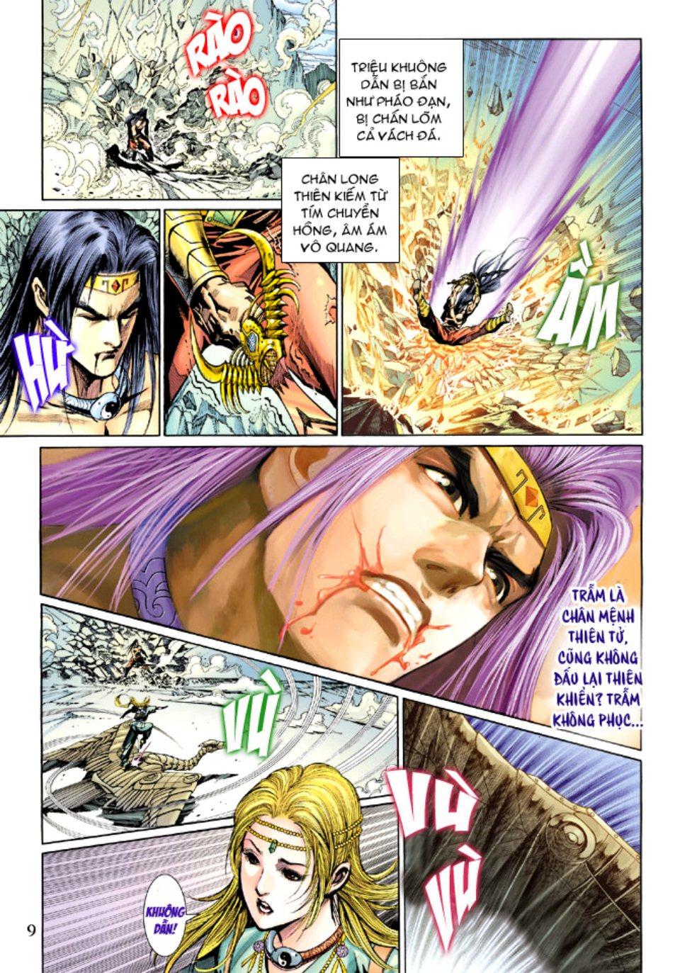 Thiên Tử Truyền Kỳ 5 - Như Lai Thần Chưởng chap 214 - Trang 9