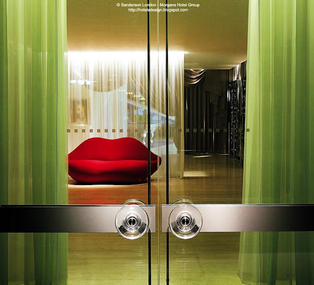 Les plus beaux hotels design du monde h tel sanderson by for Londres hotel design