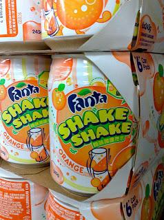 Japanese Fanta Orange Shake Shake