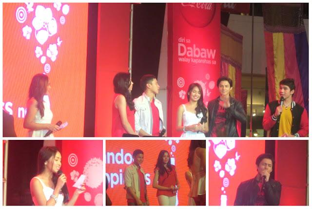 Coca-Cola Ambassadors: Julia Montes, Enchong Dee, Kathryn Bernardo and Joseph Marco