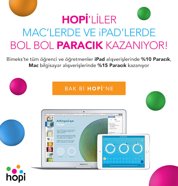 Hopi Macbook ve iPad Kampanyası
