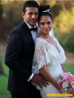 lara_dutta_mahesh_bhupathi_bollywood_famous_wedding_FilmyFun.blogspot.com