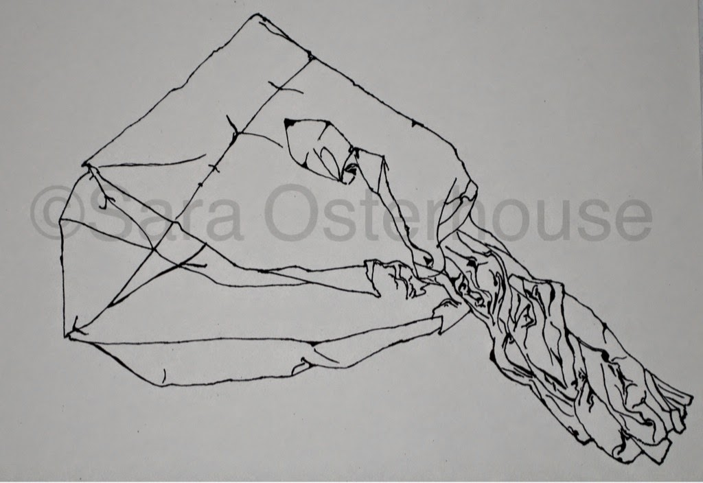 Contour Line Drawing Th Grade : Contour line drawing of a boot by novaofdoom on deviantart