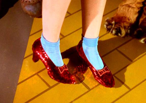 zapatos mago de oz