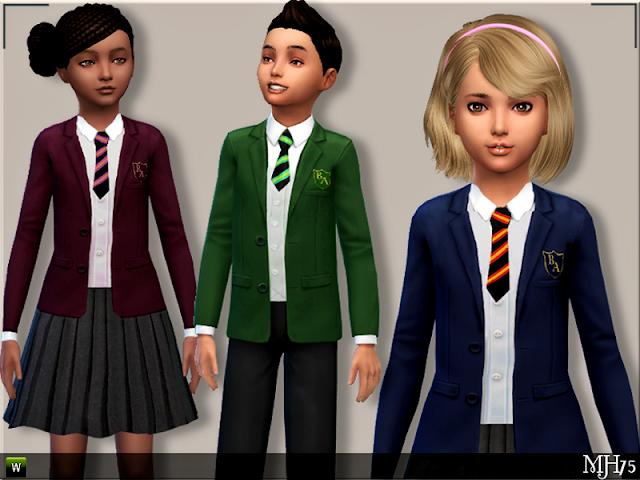 Uniformes para adolescentes y niños Schooluniformset