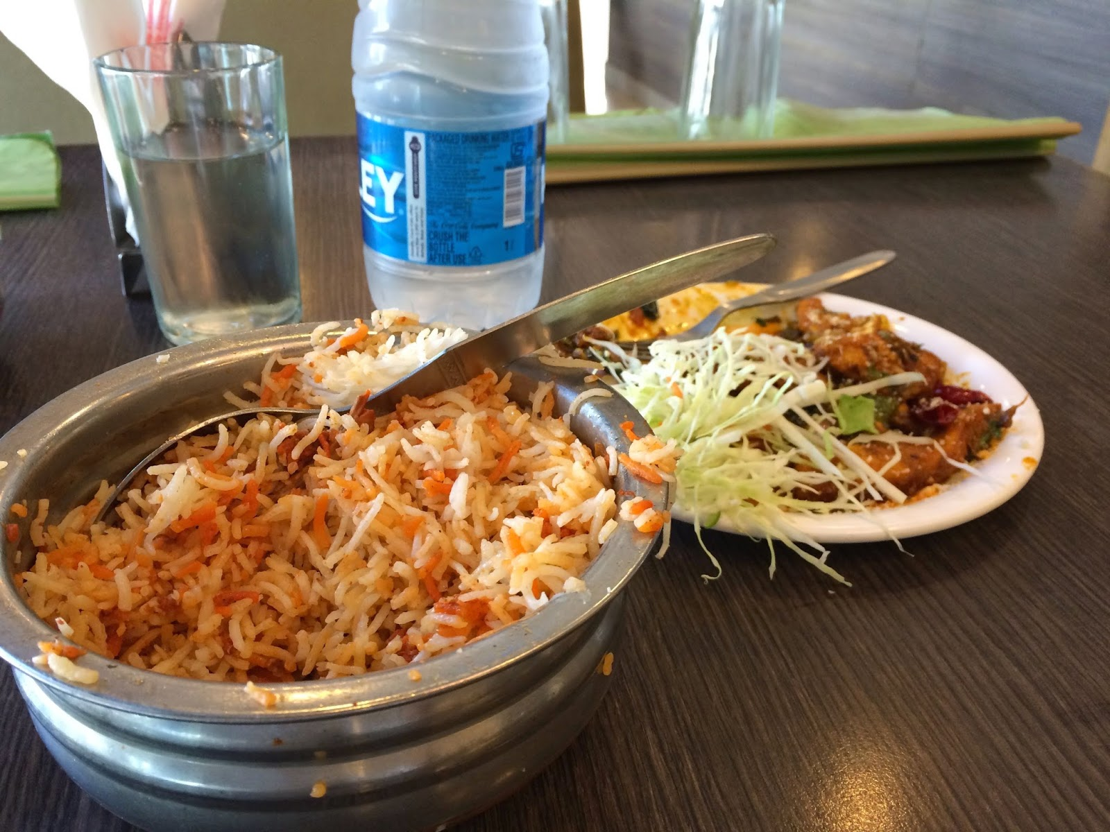 Biryani at Meghana Foods Bangalore