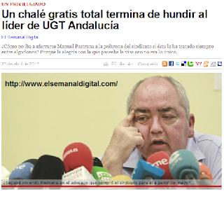 La UGT de Manuel Pastrana acusada de sobresueldos, facturas amañadas...
