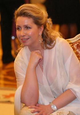 Wife of President Dmitry Medvedev Russia