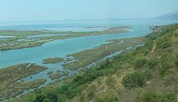 Vivari Channel in Albania links Lake Butrint .
