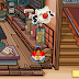 Pin de nariz roja: Ubicado en la Cafetería