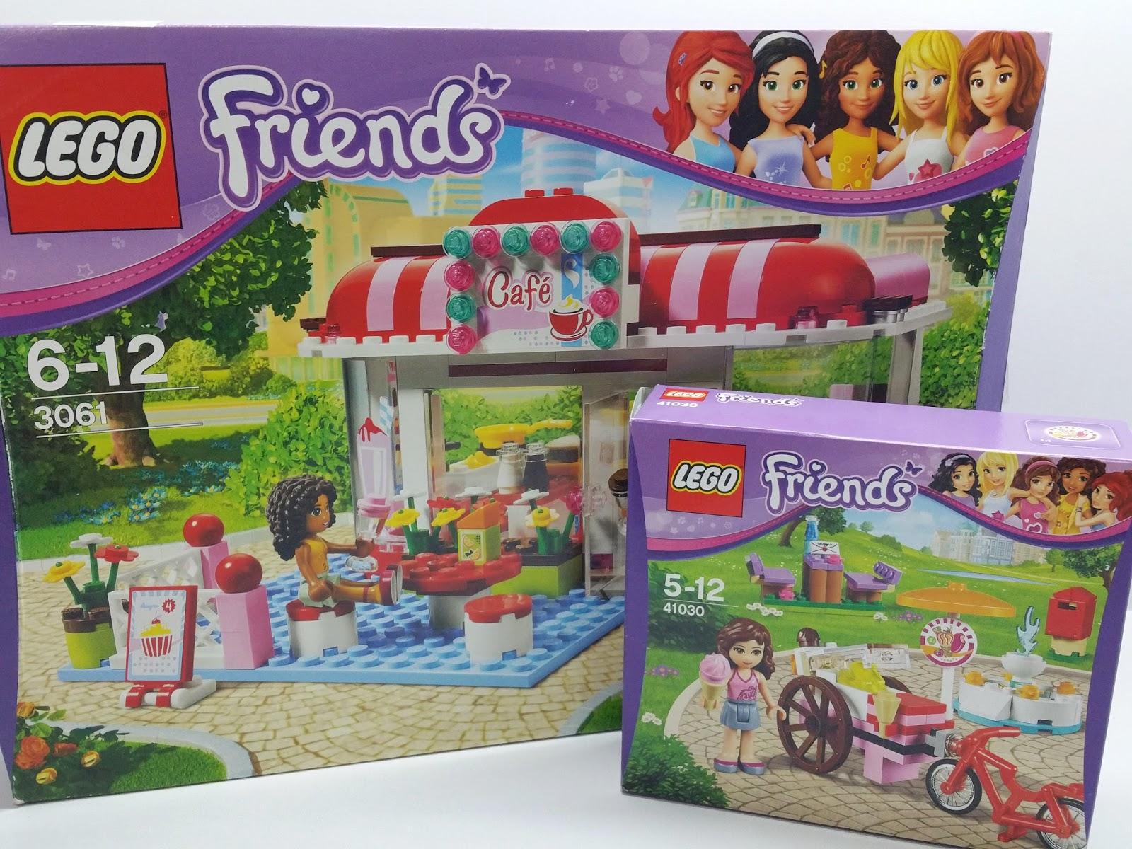 Lego Friends Moc City Park Cafe 3061 Olivias Ice Cream Bike