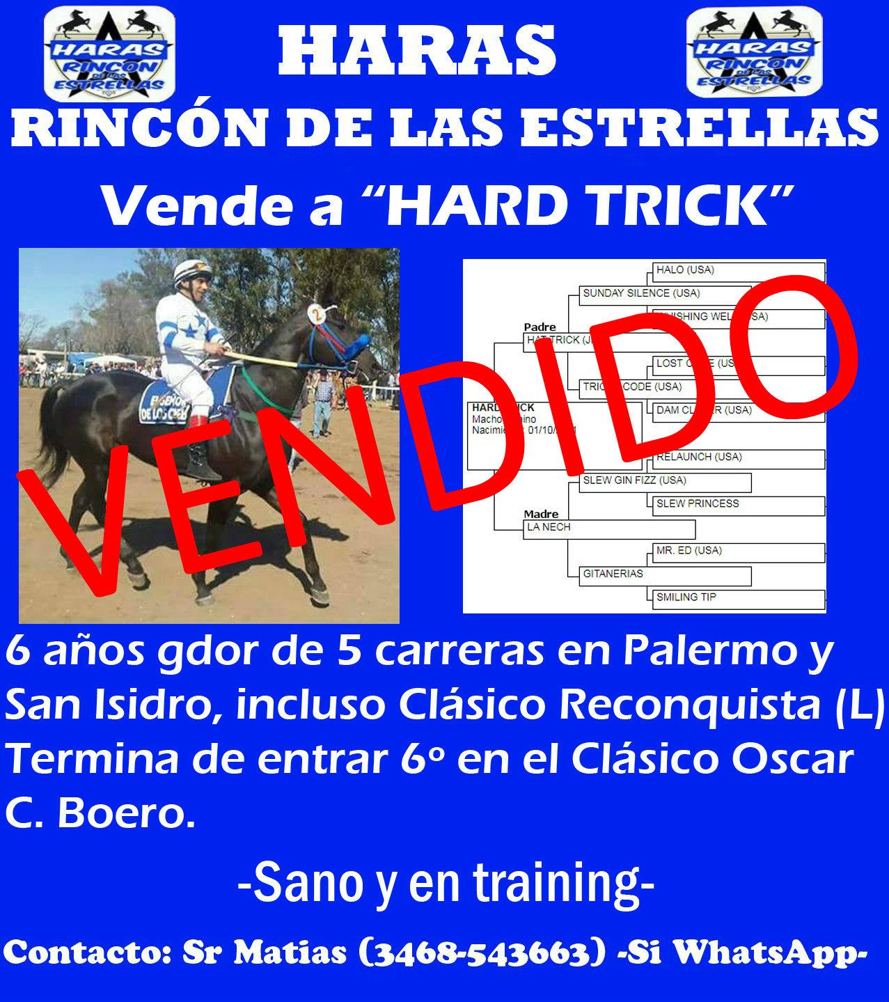 HS RINC ESTRELLAS VTA HARD TRICK