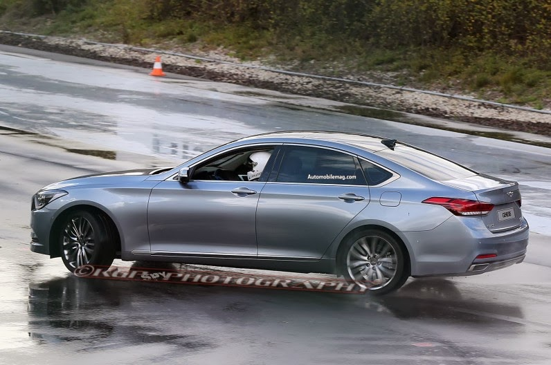 2015 Cars Coming Out 2015 hyundai genesis spied