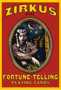 SEE! ZIRKUS brand Fortune Telling Playing Cards