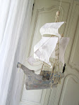 Papier Maché Ship
