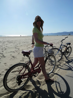 Bicycle rented in Venice Beach