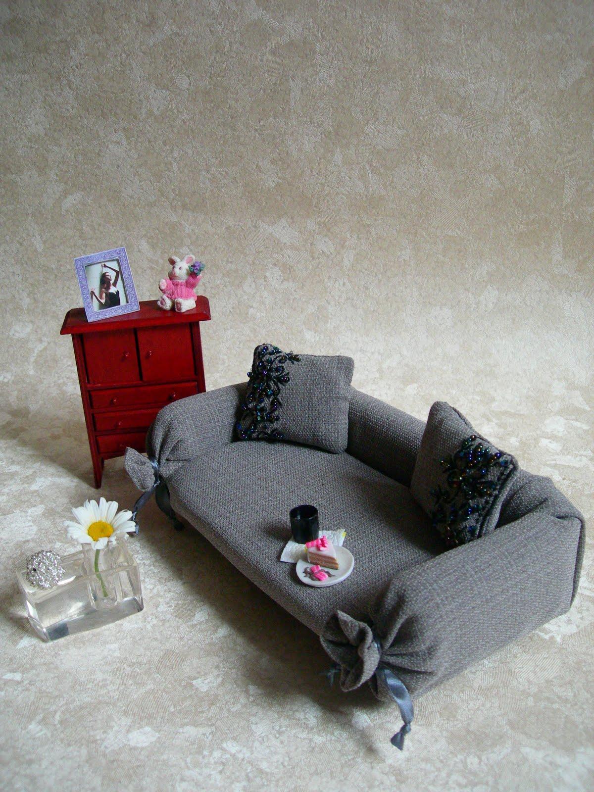 Мебель для кукол легко своими руками