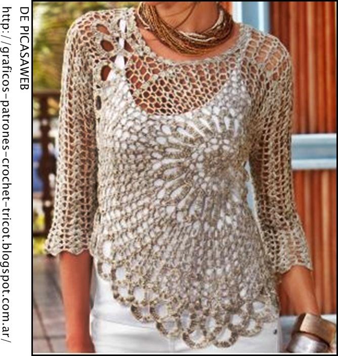 crochet fabric , CROCHET - GANCHILLO - PATRONES - GRAFICOS: April 2013