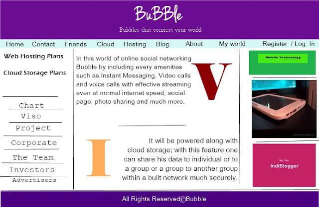 my dream business, my dream website