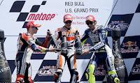 MOTO GP-Nadie para a Márquez: victoria en Laguna Seca en su estreno