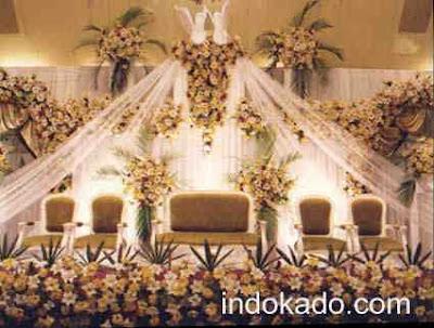 dekorasi pelaminan, dekorasi perkawinan, wedding