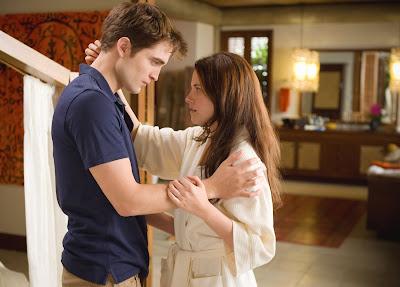 Kristen Stewart y Robert Pattinson - Crepúsculo 4