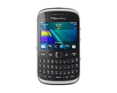 Gambar BlackBerry Curve 9315 Warna Hitam